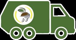 icône de camion Minett Kompost