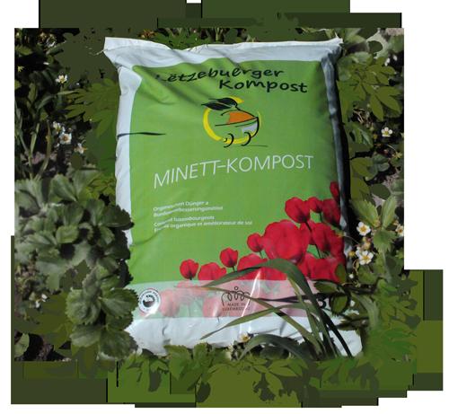 Sac de compost Minett Kompost 30L