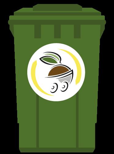 Icône poubelle Minett Kompost